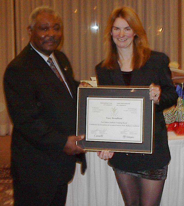 Volunteer recognition